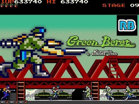 1985 [30fps] Green Beret 999999pts Loop3-4