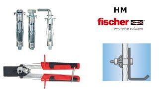 Дюбель для пустотелых материалов fischer HM
