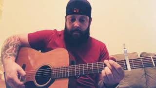 My version of Chris' amazing song Broken Halos. Amazing song with a...