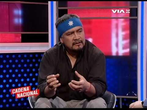 Entrevista a Hector LLAITUL, Vocero Politico de la CAM en programa CADENA NACIONAL/ VÍAX