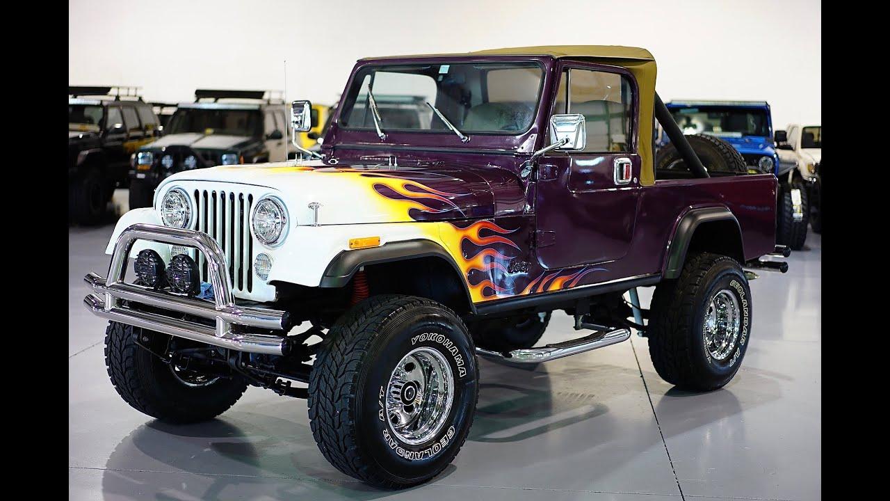 davis autosports jeep cj8 scrambler for sale youtube. Black Bedroom Furniture Sets. Home Design Ideas