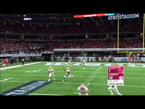 College Football ''Alabama vs Wisconsin'' Sep 5, 2015