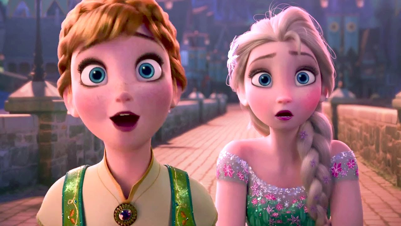 s frozen trailer Disney