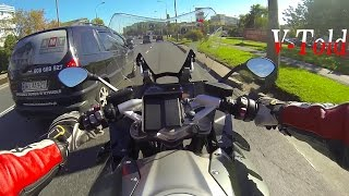 Road rage on BMW R 1200 RS