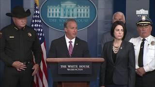 Press Briefing with ICE Director Matt Albence