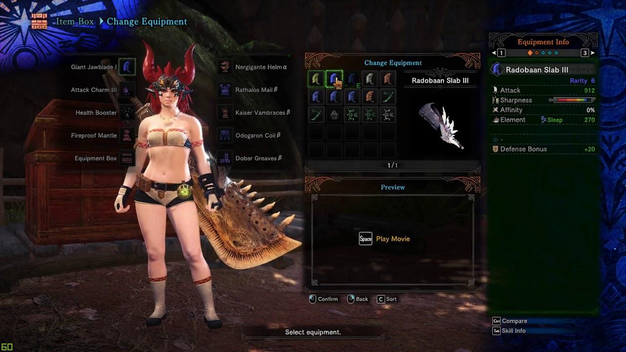 World Of Transmog at Monster Hunter: World - Mods and community