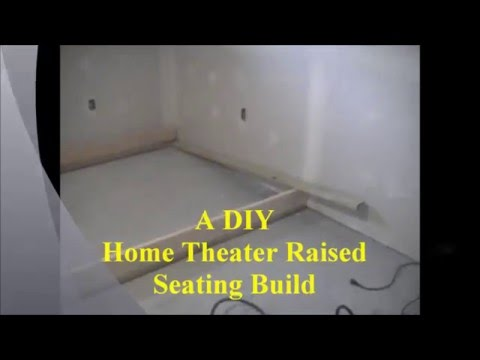 Theater Chairs Home Entertainment Rei Folding Chair A Diy Raised Seating Build Youtube