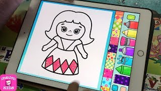 Princess Coloring - Coloring App for Kid Day #2