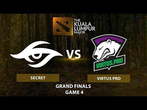 Team Secret vs Virtus.pro vod