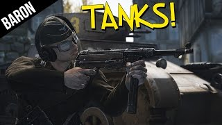Heroes and Generals TANKS!  My First Tank Battles & Epic Armor Action!