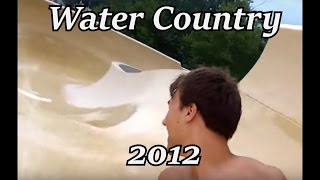 Water Country 2012 - NH - All Rides/Attractions