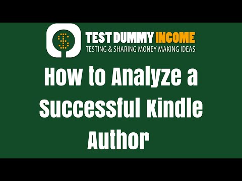 How I Analyze a Top Selling Kindle Author for Keywords, Ideas, etc.