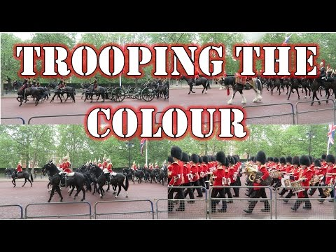 Trooping the Colour 2016 Major General's Review Buckingham Palace London