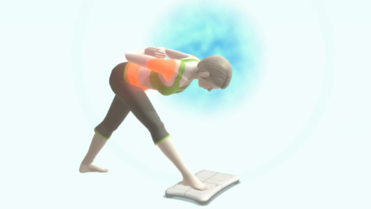 Spine Extension - Yoga Exercise - Wii Fit U - YouTube