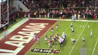 #22 South Carolina vs #2 Alabama 2009