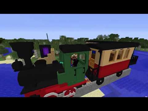 MineCraft 1 12 2 Immersive Railroading (0 3 9) - With Loop