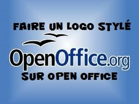 Comment faire un logo avec open office youtube - Realiser un organigramme open office ...