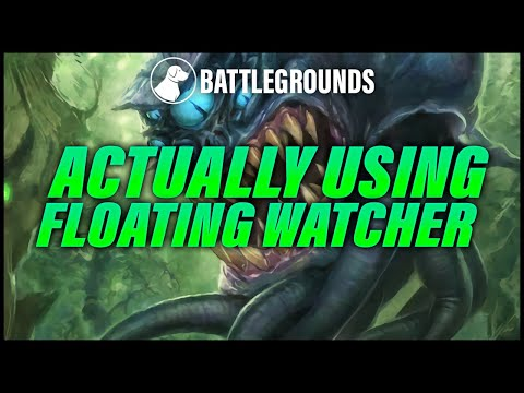 Actually Playing Floating Watcher The Whole Game | Dogdog Hearthstone Battlegrounds