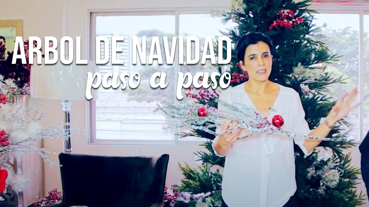 Como Hacer Un Arbol Navideno Paso A Paso Youtube - Hacer-arboles-de-navidad