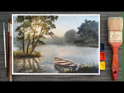 Видеоурок по живописи акварелью