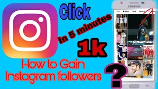 How to Gain Instagram Followers ■EASY TRICK■