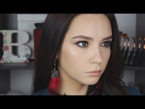 Новогодний макияж с продуктами Estee Lauder