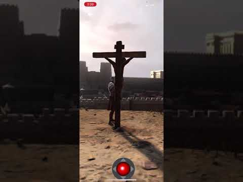 First Augmented Reality Experience Of The Crucifixion Of Jesus...