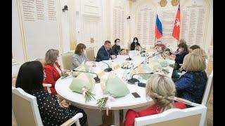 Губернатор Андрей Бочаров провел встречу с женским активом Волгоградской области