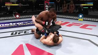 UFC 241 Даниэль Кормье vs. Стипе Миочич Жесткий бой