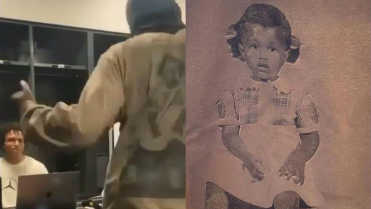 Kanye West Spotted In Alternate DONDA Longsleeve 👀