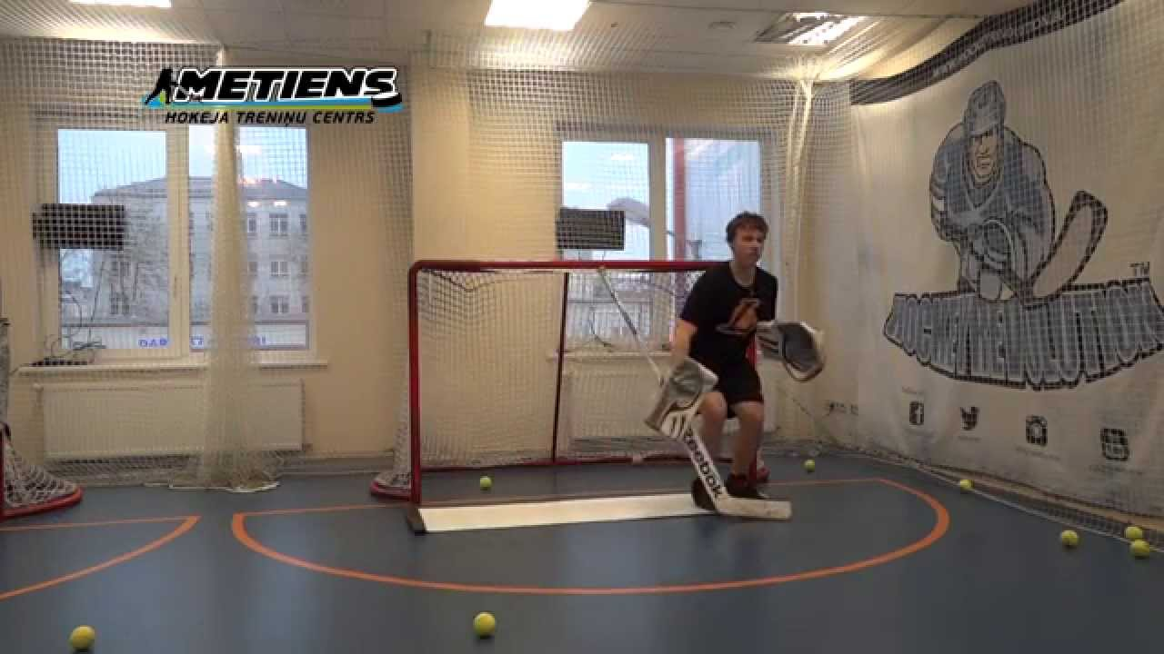 Off Ice Hockey Training Goalie Specific Workout Feat Edgars Lusins