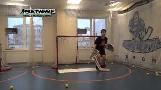 Off-Ice Hockey training: Goalie specific workout feat. Edgars Lusins and Maksims Furss