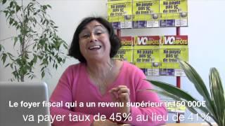 Spot Vo Impots Carmen - Scoop n°1 : qui va payer plus, qui va payer moins?