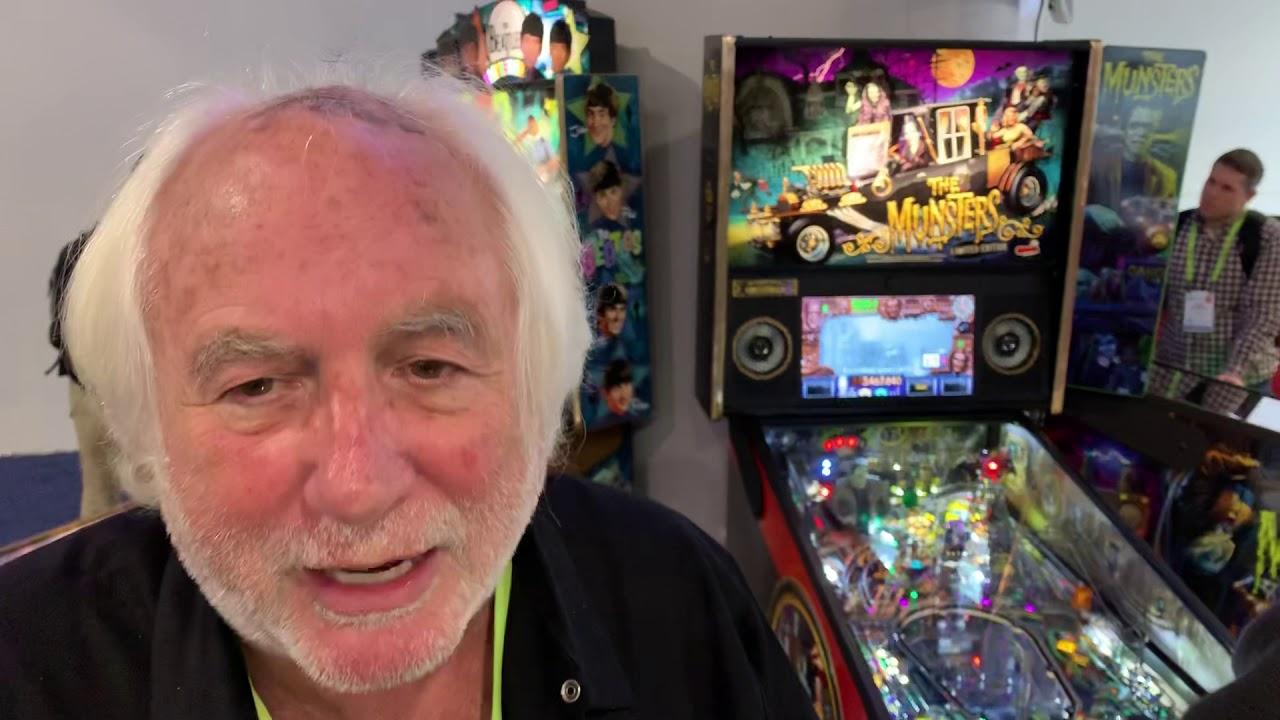 Gary Stern of Stern Pinball talks about this year's pinball machines