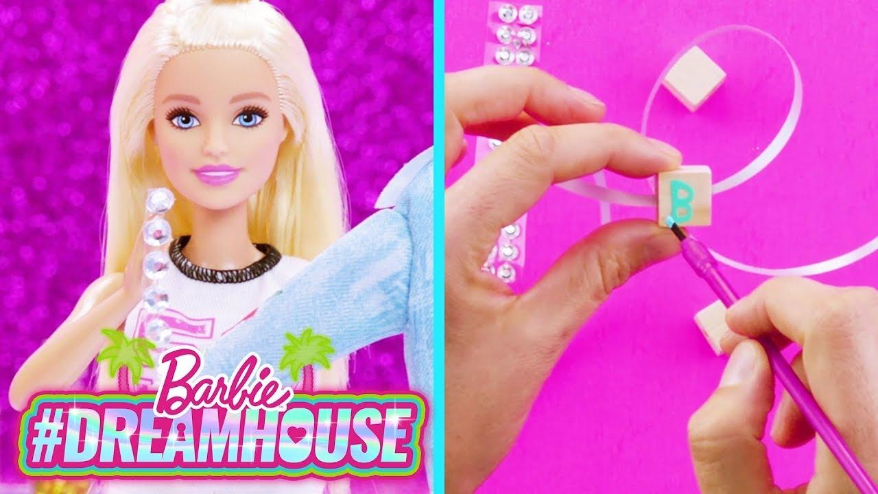CREAZIONI DI STRASS FAI DA TE CON @A for Adley - Learning & Fun 🎨💖 | @Barbie Italiano
