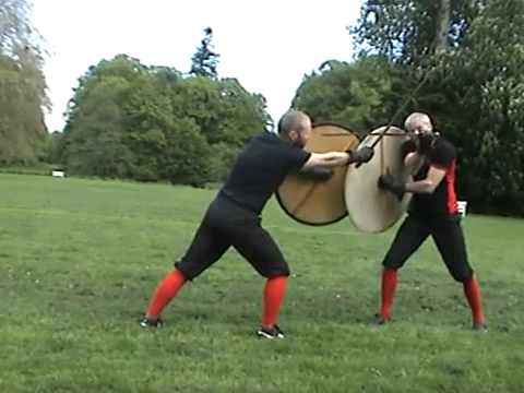 Sword & Shield Fighting with Roland Warzecha