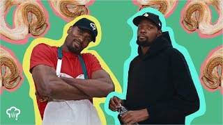Download Kevin Durant Eats Snake with Serge Ibaka | How Hungry Are You? Mp3 and Videos