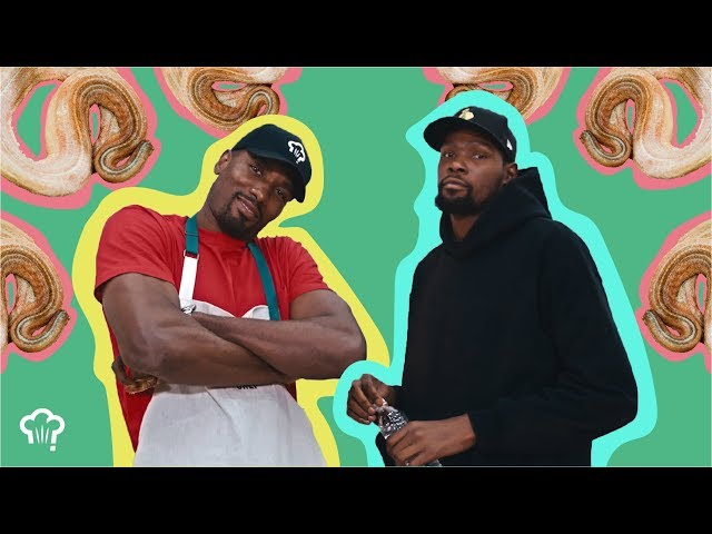 Kevin Durant Eats Snake with Serge Ibaka | How Hungry Are You?