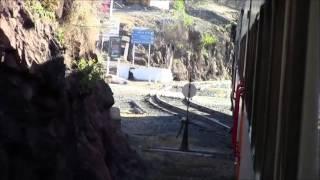 El Tren Chepe, Estación Bahuichivo, México 01/Jan/2014 メキシコ鉄道、バウイチボ駅