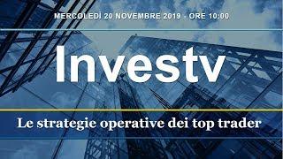 Investv: le strategie di trading dei top trader - 20 novembre 2019
