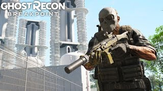 Ghost Recon Breakpoint ELIMINATING 2 COMPOUNDS IN COMPLETE STEALTH! Ghost Recon Breakpoint Free Roam