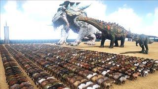 1000 Daeodons VS ARK Dinosaurs | Cantex