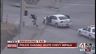2 in custody after police chase