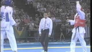 Moon Dae Sung KOR vs FRA Pascal Gentil