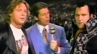 Roddy Piper, Honky and Vince McMahon Superstars Intro/Closing (12-15-1990)
