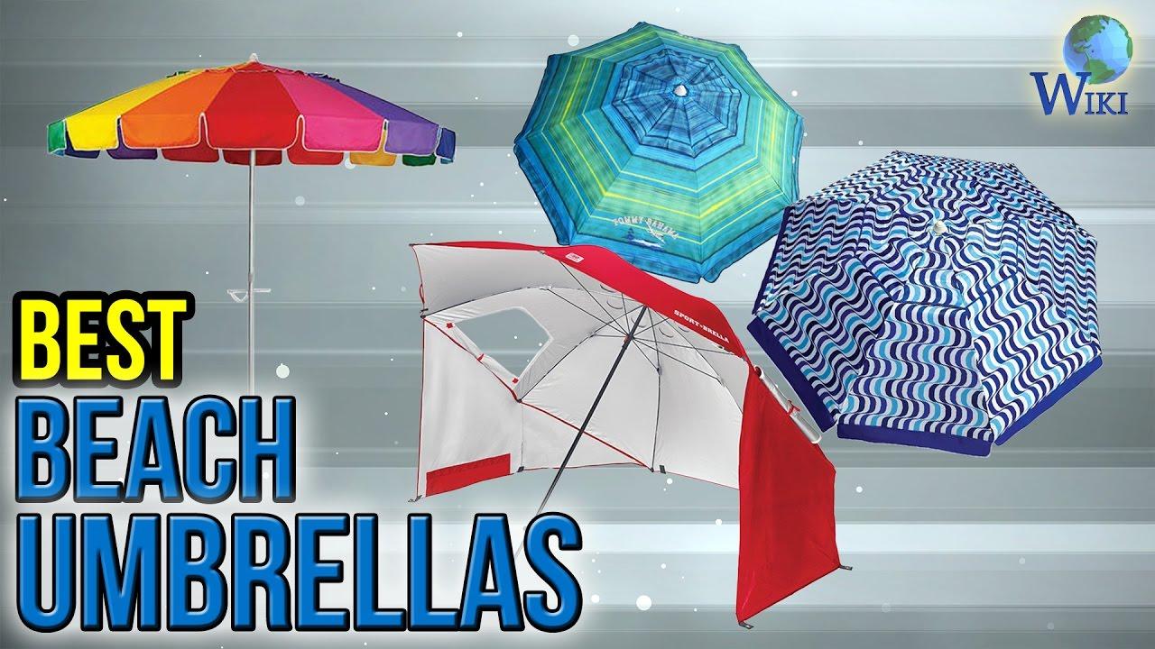 6 Best Beach Umbrellas 2017