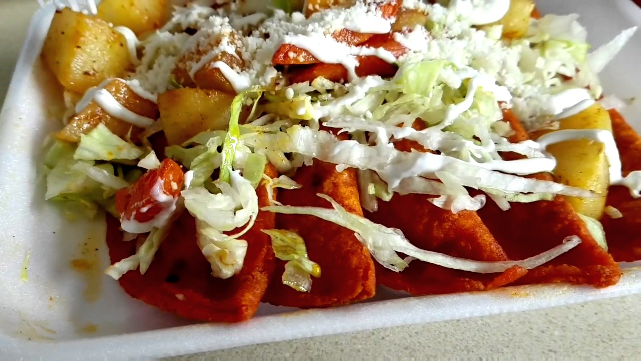 Enchiladas Potosinas - YouTube