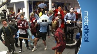 vuclip THE HARLEM SHAKE Manchester City Football Club