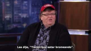 Michael Moore, Hugo Chávez y Nicolás Maduro