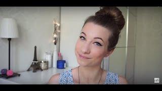Пучок с бубликом от KateLi0n - All Things Hair(KateLi0n расскажет, как сделать быструю прическу при помощи бублика. В видео использованы продукты: CLEAR Шампу..., 2015-07-03T16:17:59.000Z)
